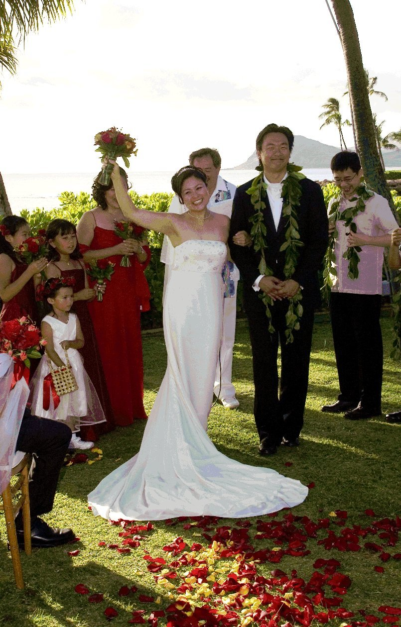 Destinations, Hawaii, Bride, Bouquet, Wedding, And, Destination, Events, Weddings, Lanikuhonua