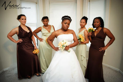 Bridesmaids, Bridesmaids Dresses, Wedding Dresses, Fashion, green, brown, dress, Wedding, Party, Bridal, And, Dresses