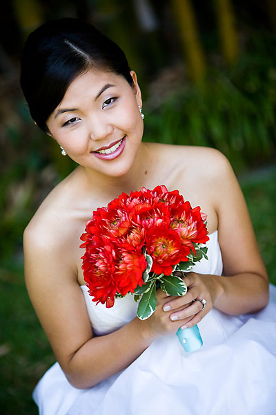Beauty, Flowers & Decor, Makeup, Bride Bouquets, Flowers, Bouquet, Hair, Aqua and red