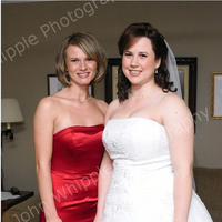 Beauty, Wedding Dresses, Fashion, red, dress, Makeup, Bride, Wedding, Of, Honor, Maid