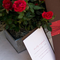 Stationery, red, brown, invitation, Invitations, Sauci delightfully unordinary™, Wedding invitation, Brown invitation