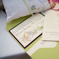 Stationery, purple, green, invitation, Invitations, Lime, Sauci delightfully unordinary™, Wedding invitation
