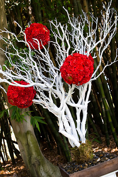 Ceremony, Flowers & Decor, Decor, Manzanita, Pomanders, Altar arrangements