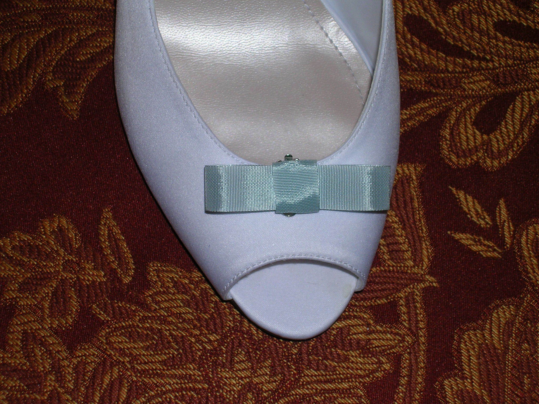 DIY, blue, Bow, Shoe clip