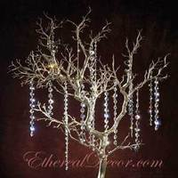 Centerpiece, Tree, Crystal