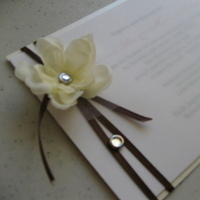 Stationery, white, Invitations