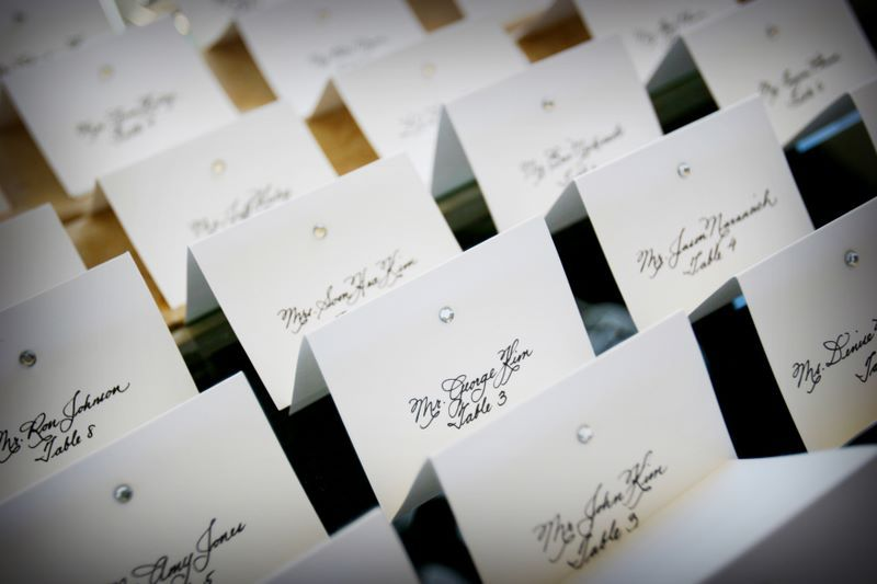 Stationery, Place Cards, Placecards, Calligraphy katrina
