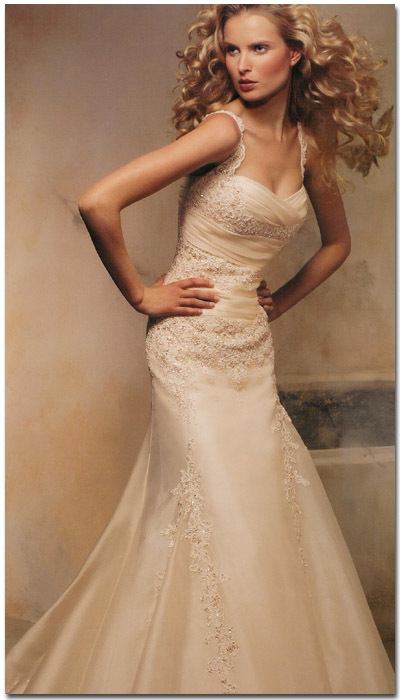 Wedding Dresses, Fashion, dress, Wedding, By, My, Pronovias