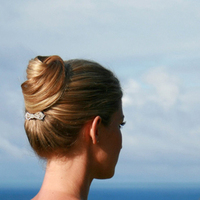 Beauty, Chignon, Updo, Hairpin