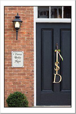 Door, Letters