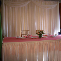 inc, Drape, Camelot special events tents, Backdrop, Head table, Back light, Back drop, Swag, Backlight