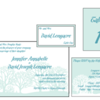 Stationery, blue, Winter, Invitations, Custom, Tree, Letterpress, Farfalla wedding, Snow
