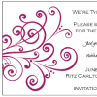 Stationery, red, Invitations, Custom, Letterpress, Farfalla wedding, Burgandy, Swirl