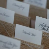 Calligraphy, Stationery, Place Cards, Escort Cards, Laura hooper calligraphy, Placecards