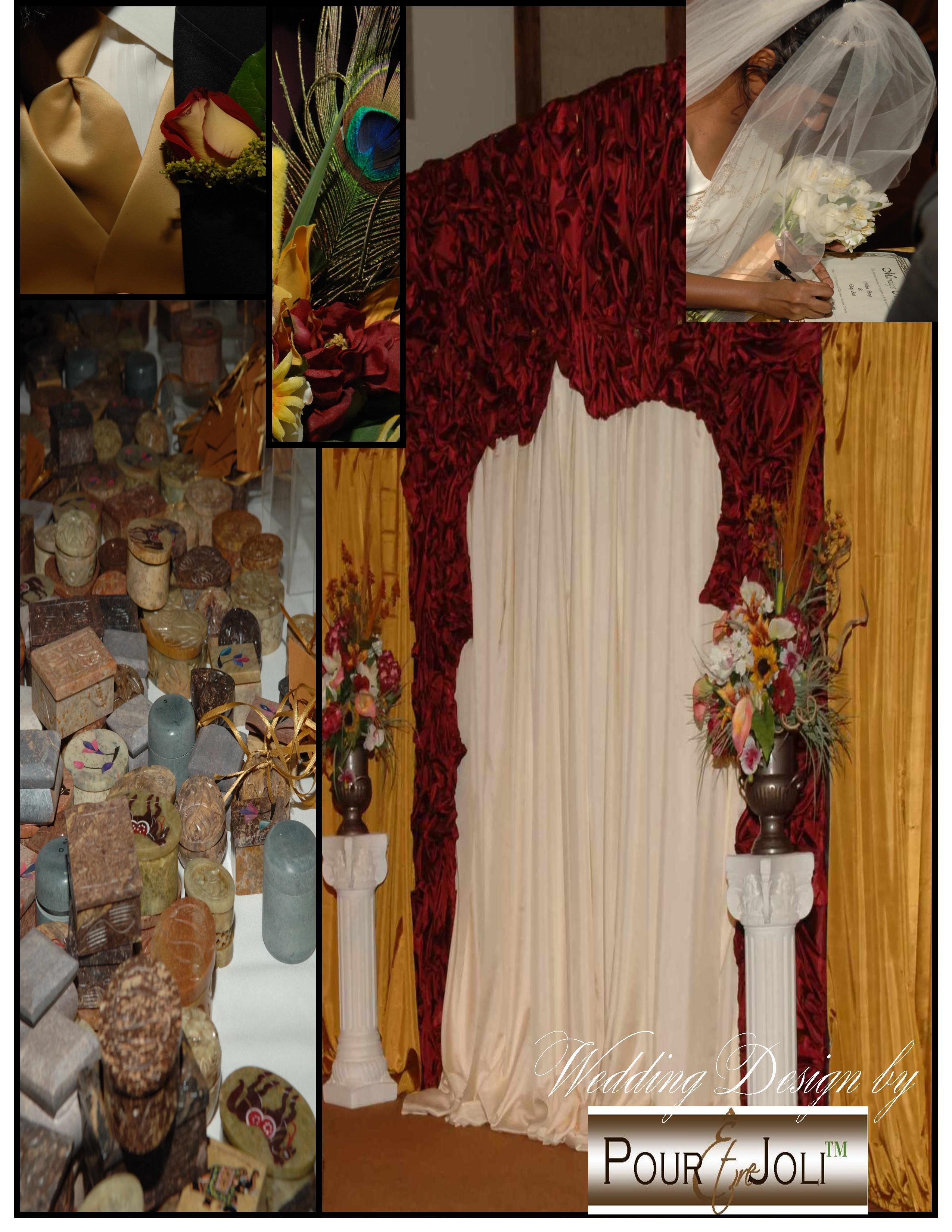 Ceremony, Flowers & Decor, Decor, Wedding, Design, Indian, Pour etre joli, Culture