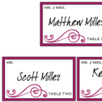 Stationery, red, Invitations, Custom, Letterpress, Farfalla wedding, Burgandy, Swirl, Table cards
