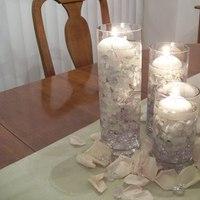 Centerpiece, Candle, Hydrangea