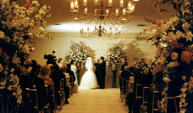 Ceremony, Flowers & Decor, Princeton-columbia club of new york city