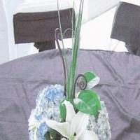 Flowers & Decor, blue, Centerpieces, Flowers, Centerpiece, Hydrangea, Lily