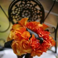 Flowers & Decor, orange, Bride Bouquets, Flowers, Bouquet, Christine farah photography