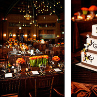 Reception, Flowers & Decor, Cakes, brown, cake, Pen carlson fine art photography