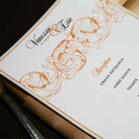 orange, brown, Menu, Serendipity design