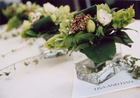 Centerpieces, Modern Wedding Flowers & Decor