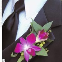 Flowers & Decor, purple, Boutonnieres, Orchid