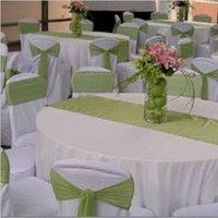 Reception, Flowers & Decor, Centerpieces, Tables & Seating, Centerpiece, Tables, Sashes
