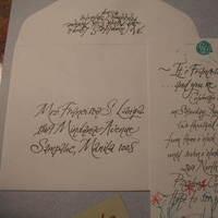 Calligraphy, Party, Invite, Calligraphy katrina