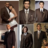 Fashion, brown, Men's Formal Wear, Tux