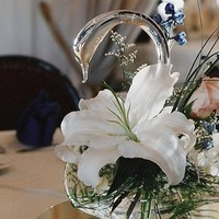 Centerpiece, Glass swan