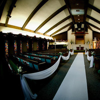 Ceremony, Flowers & Decor, Church