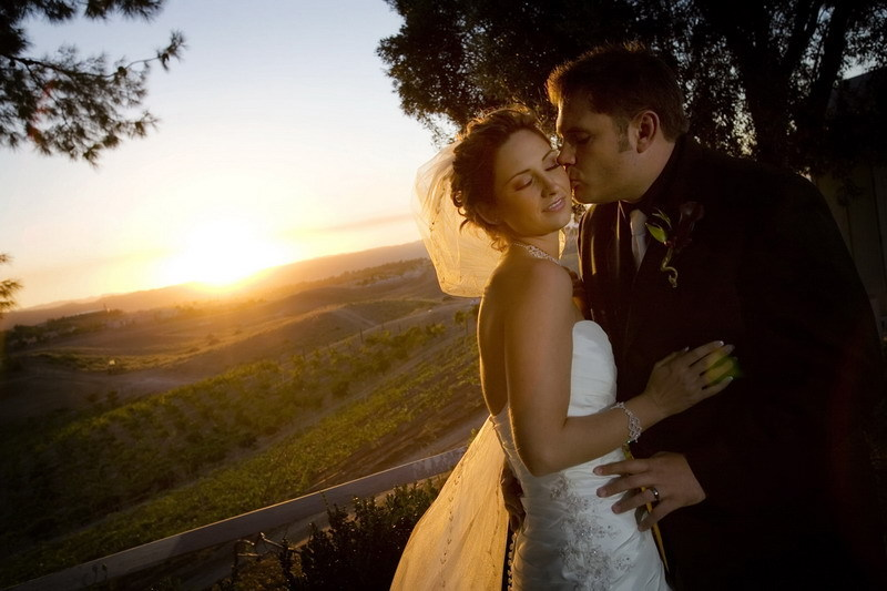 Wedding, Us, Winery, Sunset, Beautiful, Love, Dru chen