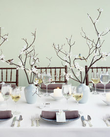 Centerpiece, Birds and branches