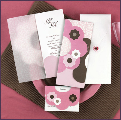 Stationery, pink, Invitations, Retro, Best little wedding shop