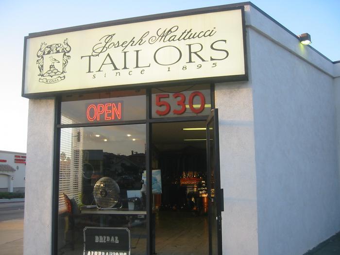 Joseph mattucci tailoring and alterations