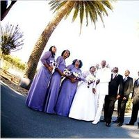 purple, Wedding party, Palm event center, Purple wedding