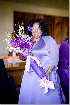purple, Bridesmaid, Broom, Jumping the broom, Purple bridesmaids