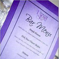 purple, Menus, Purple menu
