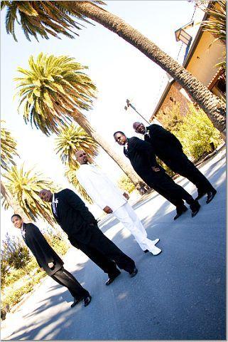 Wedding party, Palm event center