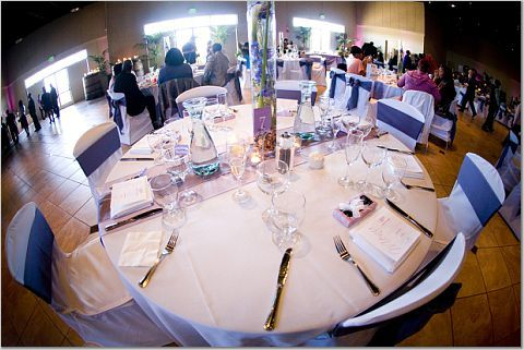 Reception, Flowers & Decor, purple, Palm event center, Purple decor