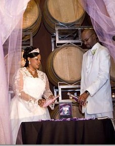 purple, Sand ceremony, Purple ceremony
