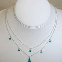 Jewelry, Necklaces, Matching, Alyssa jewelry designs, Bridesmaid necklace, Crystal jewelry