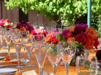 Reception, Flowers & Decor, Fleurs de france