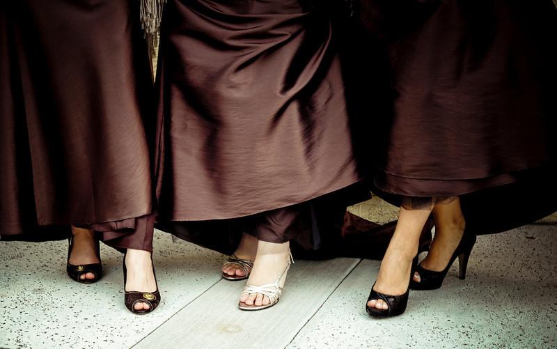 Bridesmaids, Bridesmaids Dresses, Shoes, Fashion, brown
