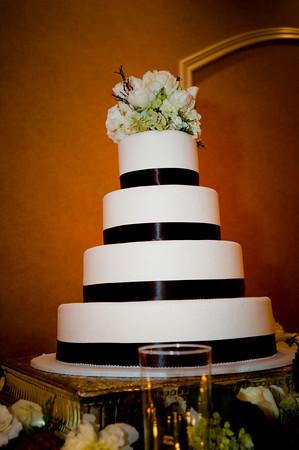 Cakes, white, brown, cake