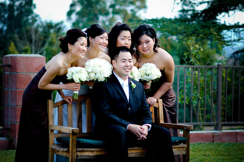brown, Bridal party
