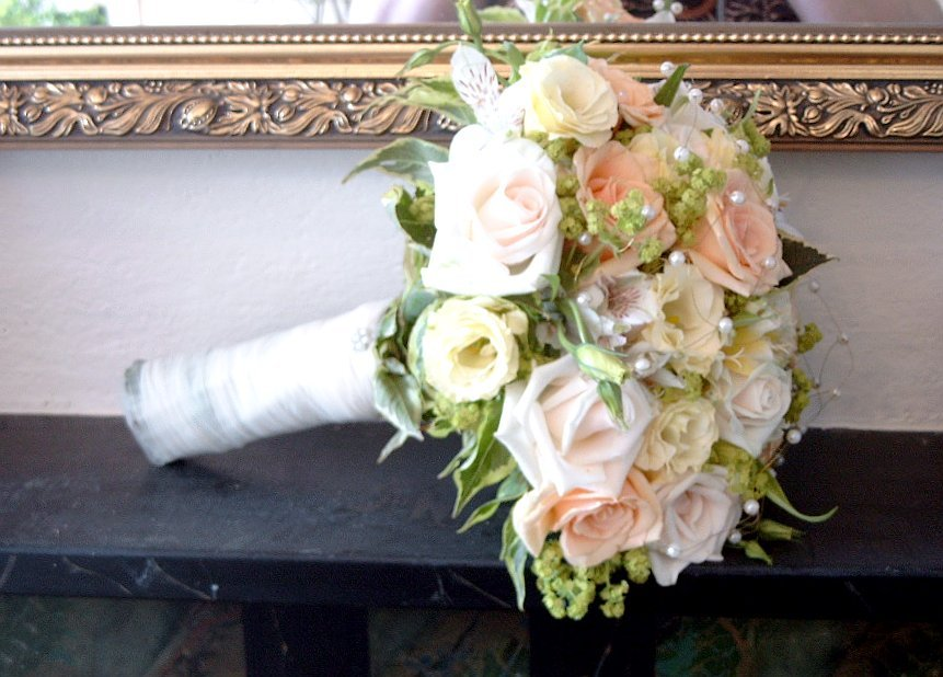 Flowers & Decor, pink, Bride Bouquets, Flowers, Roses, Bouquet