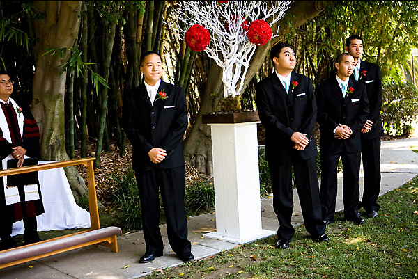 Ceremony, Flowers & Decor, Groomsmen, Groom